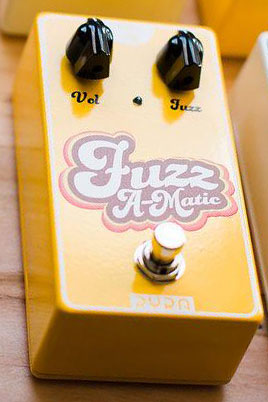 RYRA FUZZ A-MATIC Yellow Pedal