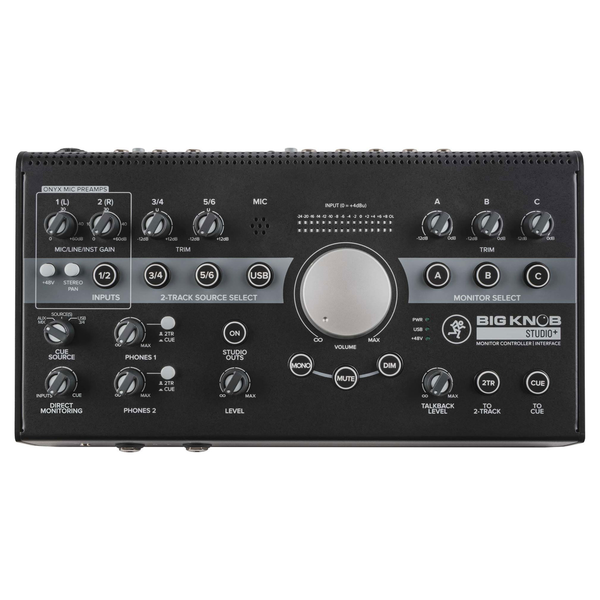 Mackie Big Knob Studio+ Studio Monitor Controller Interface