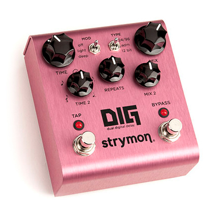 Strymon DIG Dual Digital Delay Pedal - Bananas at Large - 3