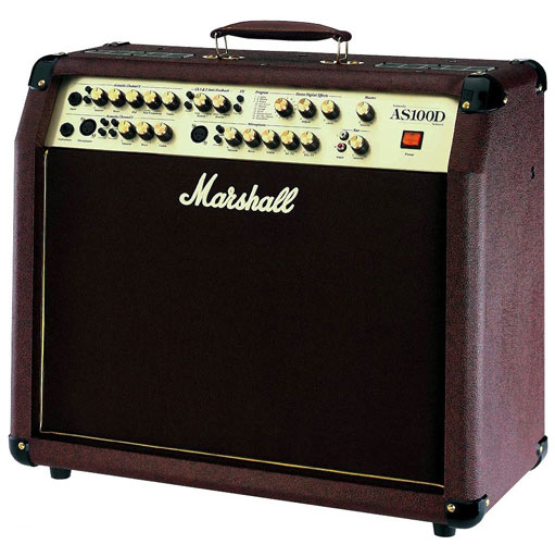 Marshall AS100D 2x8 100 Watt Acoustic Combo Amp - Bananas at Large