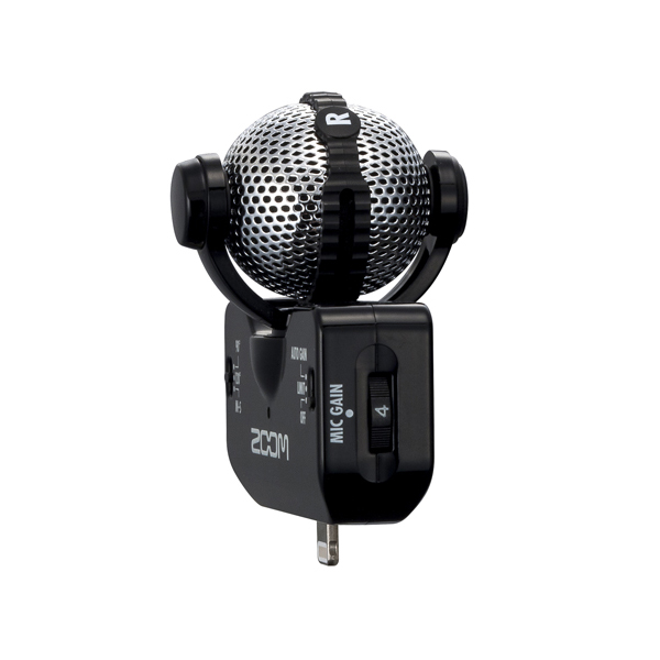 Zoom IQ5 Lightning Stereo Microphone - Black - Bananas at Large - 3