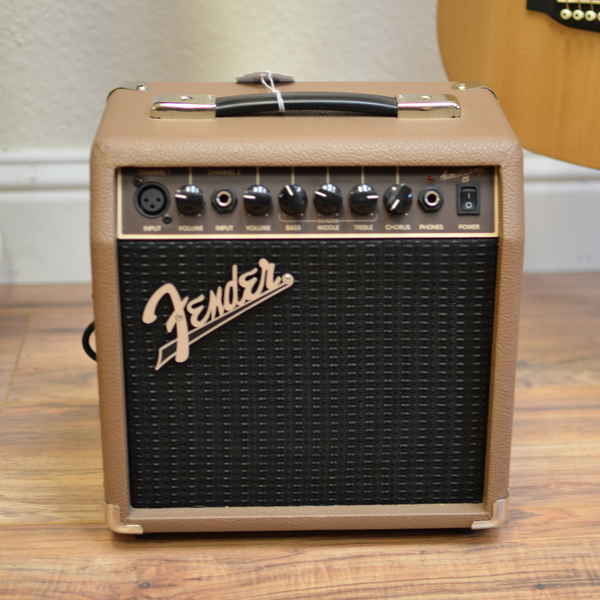 Fender Acoustasonic 15 Acoustic Combo Amp (Pre-Owned)