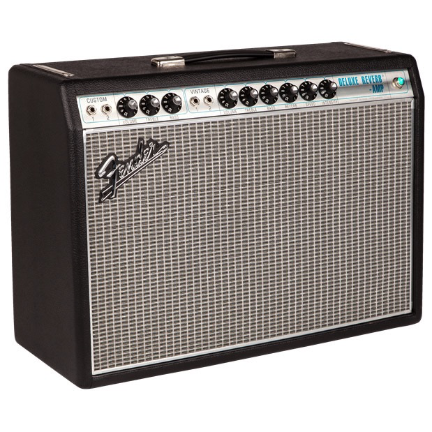 Fender 68 Custom Deluxe Reverb Combo Amplifier, 22 Watts - Bananas At Large®