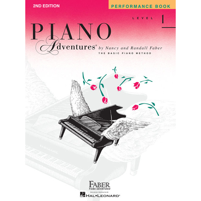Hal Leonard Piano Adventures Level 1 Peformance Book 2nd Edition - Bananas at Large