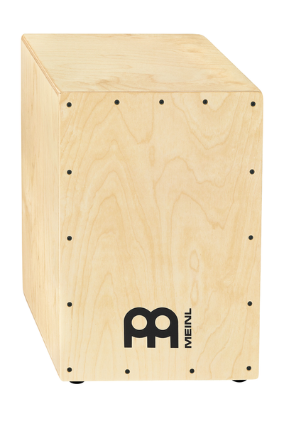 Meinl HCAJ100NT  Headliner Series Snare Cajon - Natural - Bananas at Large