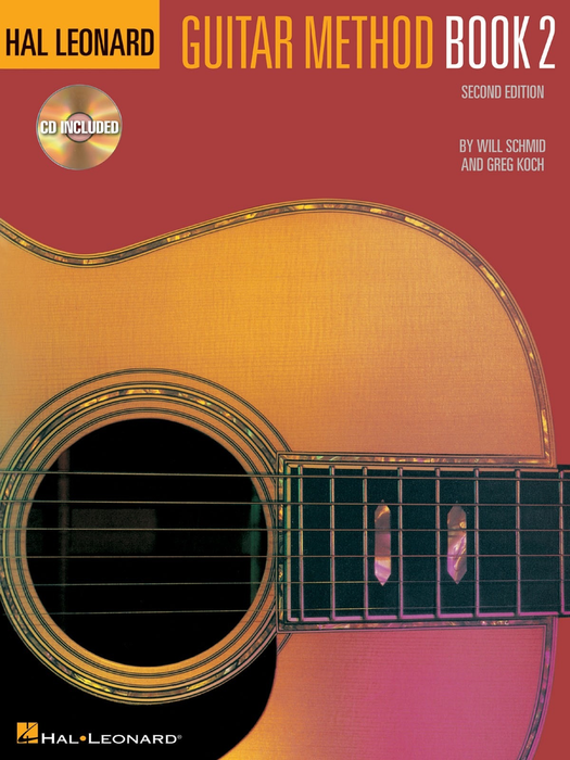 HAL LEONARD GUITAR METHOD BOOK 2 BOOK/CD PACK - Bananas At Large®