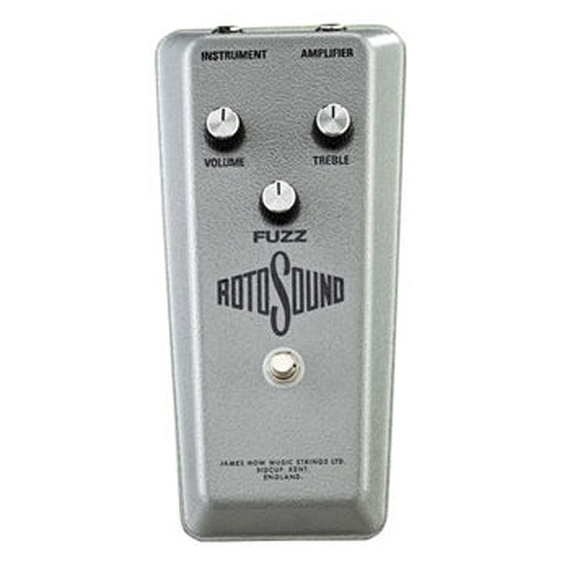 Rotosound RFB1 Limited Edition 1960s Fuzz Reissue Pedal - Bananas at Large