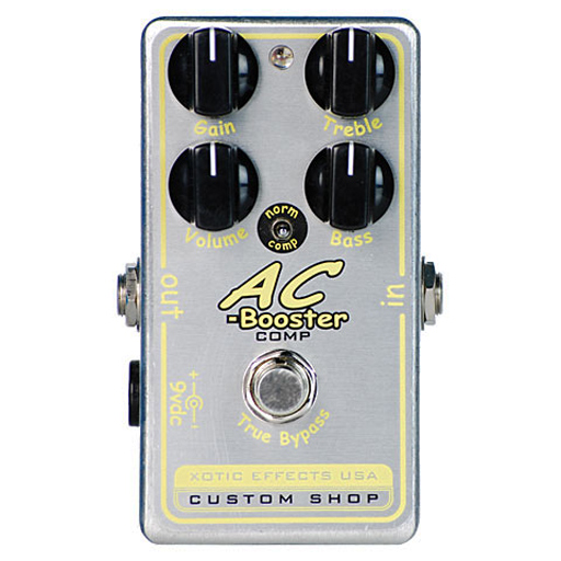 Xotic AC Comp Booster Compressor Pedal - Bananas at Large
