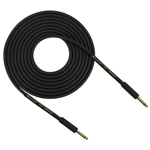 Rapco HOG-30B Road Hog Series 30 Feet Instrument Cable, Straight - Bananas at Large