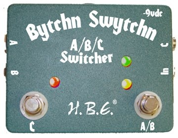 HomeBrew Electronics Bytchn Swytchn A/B/C Switcher - Bananas at Large
