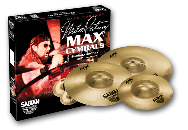 Sabian 25002XMPB AAX Max Splash Set Brilliant Finish - Bananas at Large - 1