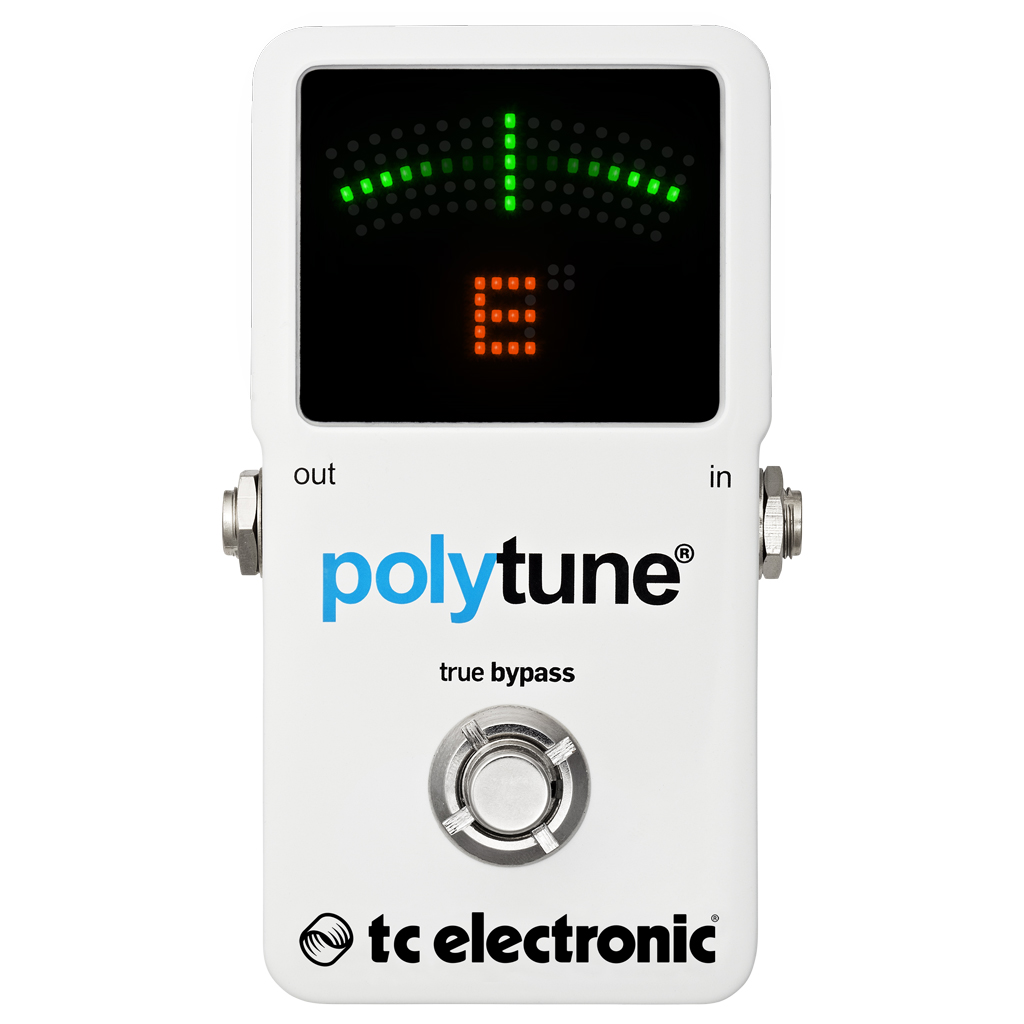 TC Electronic PolyTune 2 Guitar Tuner Pedal - Bananas at Large - 1
