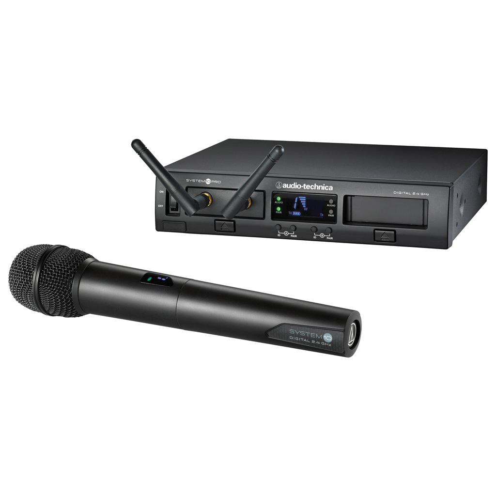Audio Technica ATW-1302 System 10 Pro Digital Wireless Handheld System - Bananas At Large®