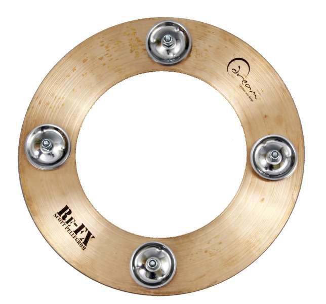 Dream Cymbals REFX-CC10 10 in. Scott Pellegrom Crop Circle Cymbal - Bananas At Large®