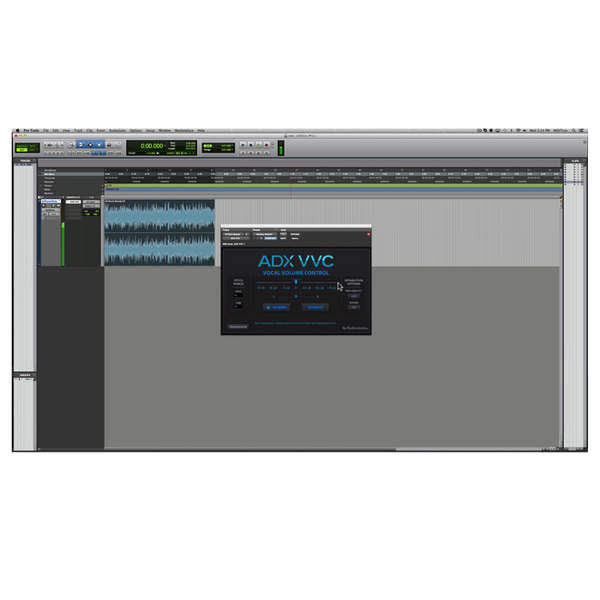 Audionamix ADX VVC Vocal Volume Control Lead Vocal & Melodic Volume Control [Download] - Bananas At Large®