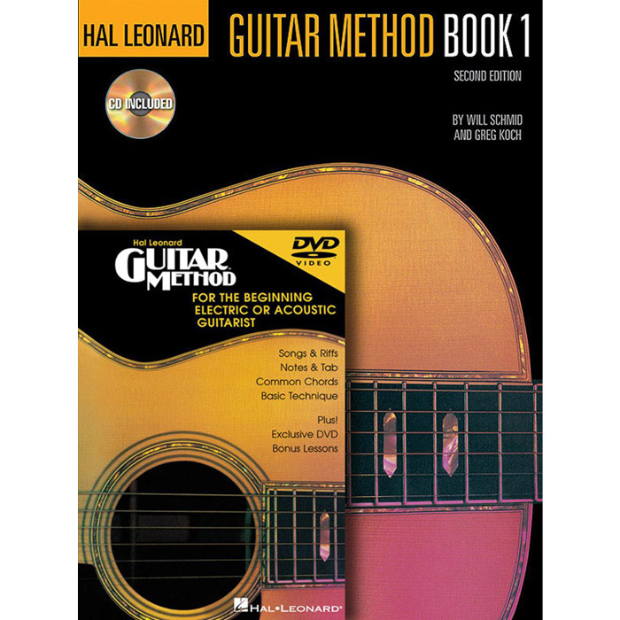 Hal Leonard Guitar Method Book 1 With Book 1/CD and DVD Pack - Bananas At Large®