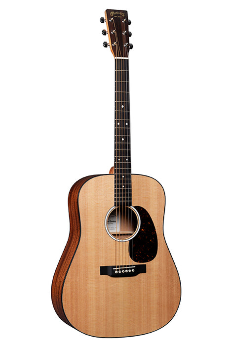 Martin D-10E Dreadnought Acoustic Guitar - Natural
