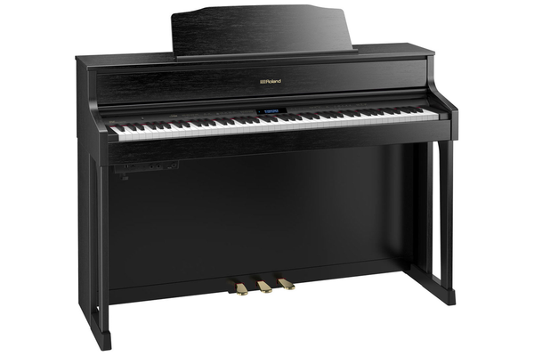 Roland HP-605 SuperNATURAL Digital Piano with Stand and Bench - Contemporary Black