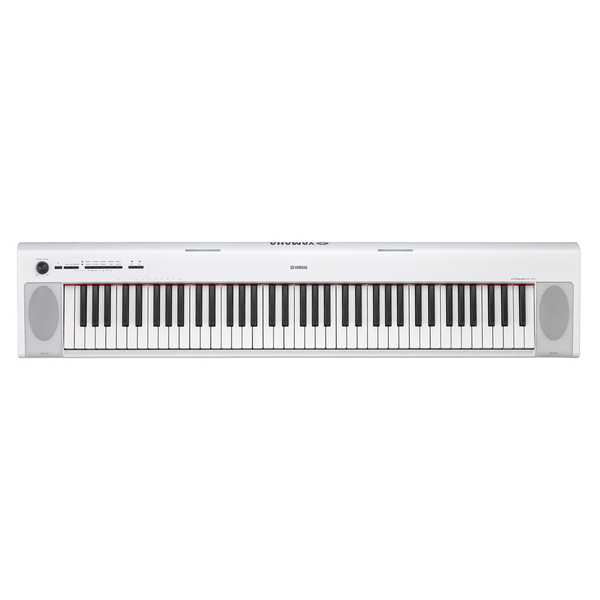 Yamaha Piaggero NP-32 76 Key Digital Piano, White - Bananas at Large
