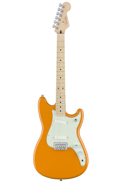 Fender Duo-Sonic with Maple Fingerboard - Capri Orange - Bananas at Large - 1