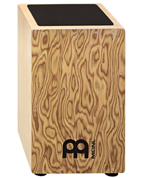Meinl CAJ3MB-M Makah-Burl Traditional String Cajon - Bananas at Large
