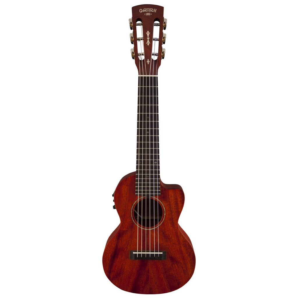 Gretsch G9126-ACE Guitar-Ukulele, Acoustic-Cutaway-Electric with Gig Bag - Bananas At Large®