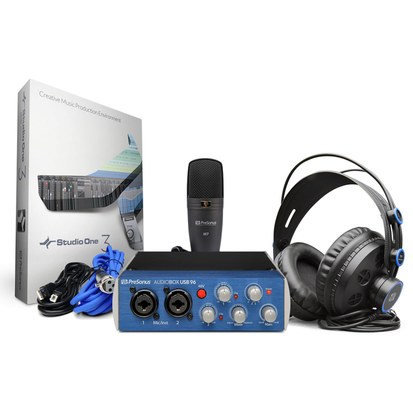 PreSonus AudioBox USB 96 Studio Complete Recording Kit