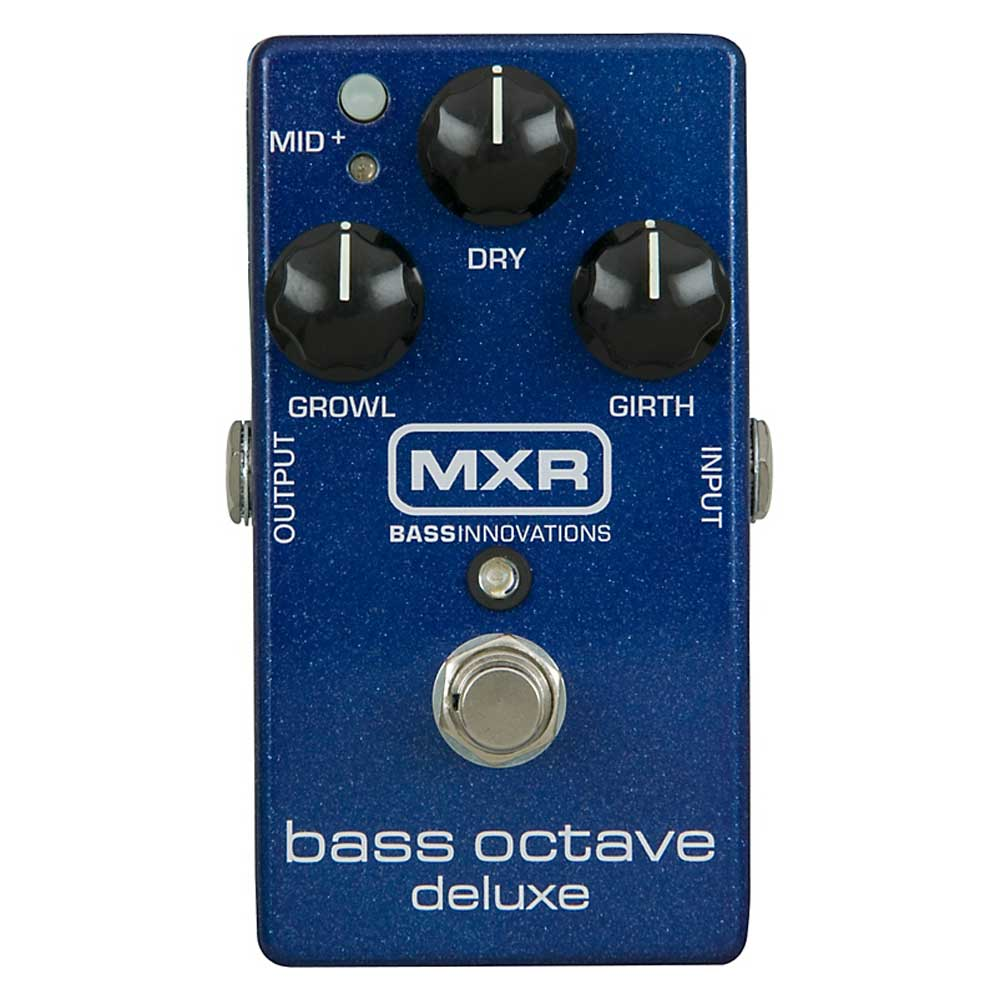 MXR M288 Bass Octave Deluxe Pedal - Bananas at Large