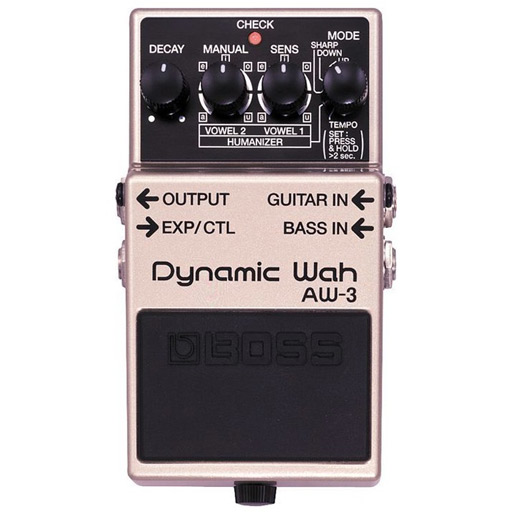 Boss AW-3 Dynamic Wah Guitar and Bass Wah Effects Pedal - Bananas at Large