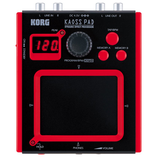 Korg MiniKP Miniature Kaoss Pad Battery Power - Bananas At Large®