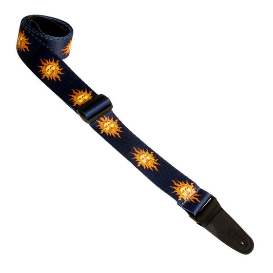 Henry Heller HSUB2-12 Polyester 2 In. Sublimation Printed Guitar Strap - Bananas At Large®