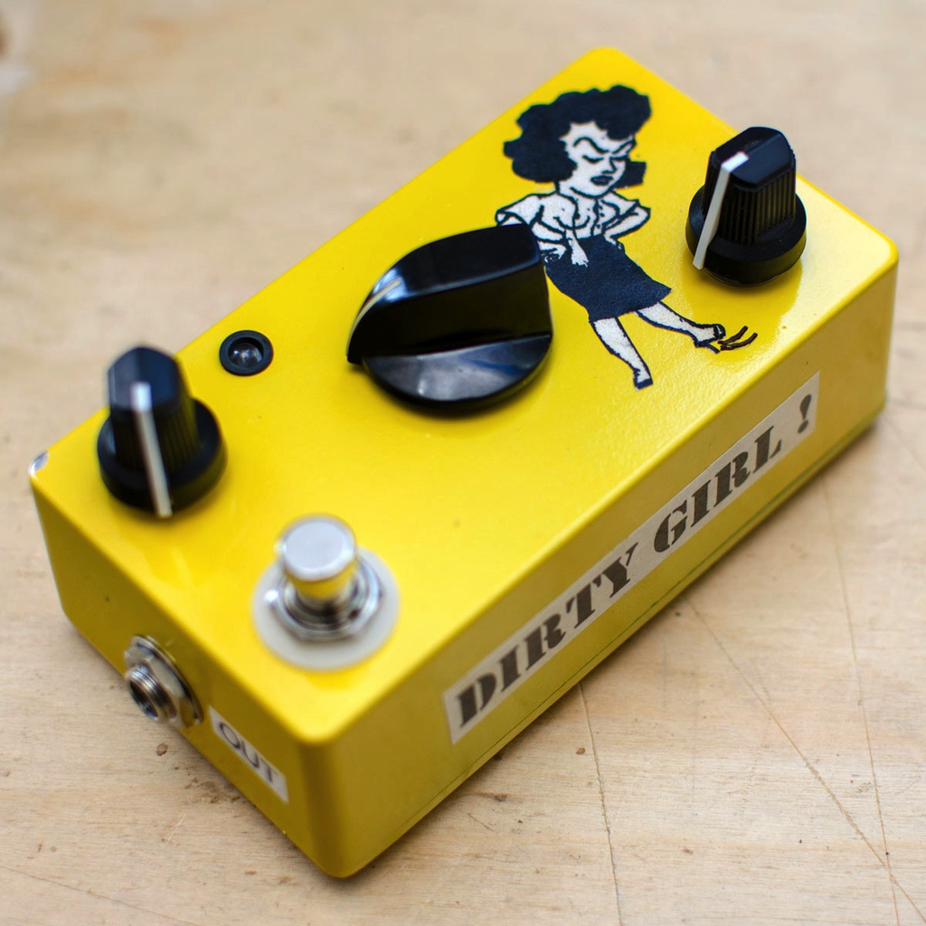 Dirty Boy Dirty Girl Fuzz Pedal - Bananas At Large®