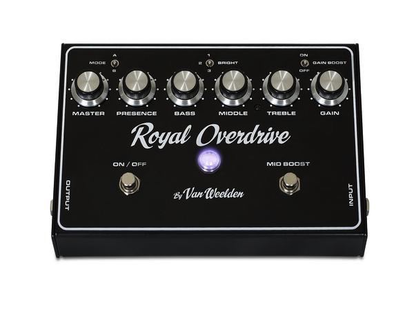 Van Weelden Royal Overdrive Pedal
