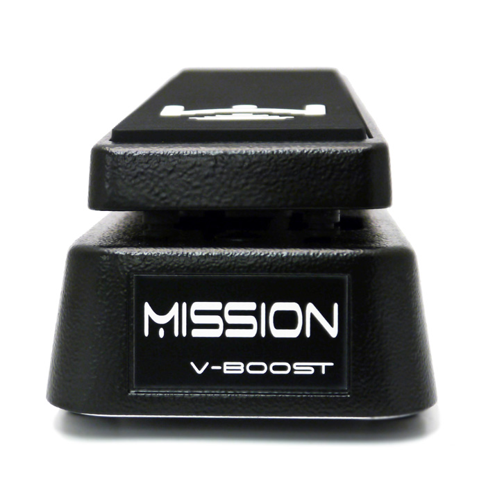 Mission Engineering VB-BK V-Boost Switchless Variable Boost Pedal with Integrated Buffer Clean, Black - Bananas at Large