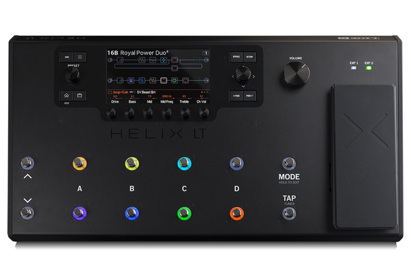 Line 6 HELIX LT Streamlined HX Guitar Processor