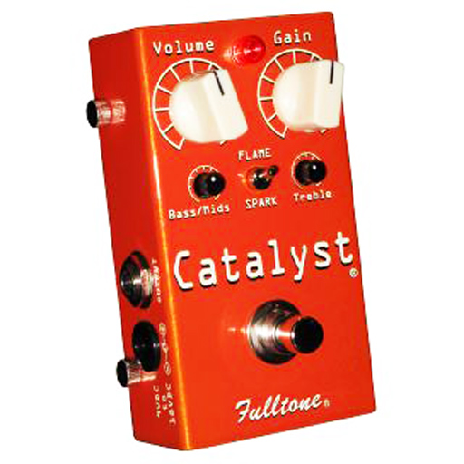 Fulltone CT-1 Catalyst Distortion/Overdrive/Fuzz/Boost Guitar Effects Pedal - Bananas At Large®