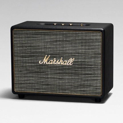 Marshall M-ACCS-10123 Woburn Bluetooth Speaker - Black - Bananas at Large