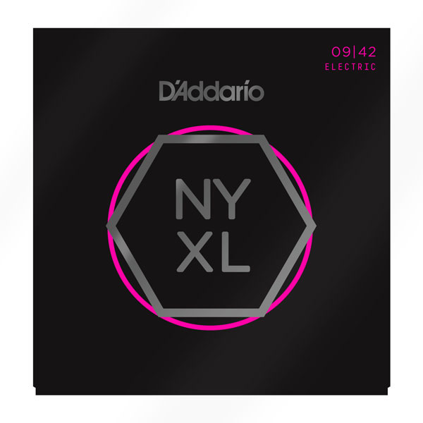 DAddario NYXL0942 3-Pack Nickel Wound Super Light Electric Guitar Strings - Bananas at Large