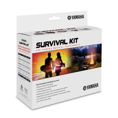 Yamaha SKD2 Survival Kit Works with NP-V60, PSR-E433, NP31, NP30, YPG235 - Bananas at Large