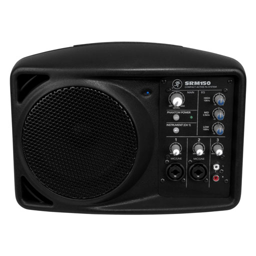 Mackie SRM150 SRM Series 5.25 In. Compact Powered PA System - Bananas at Large