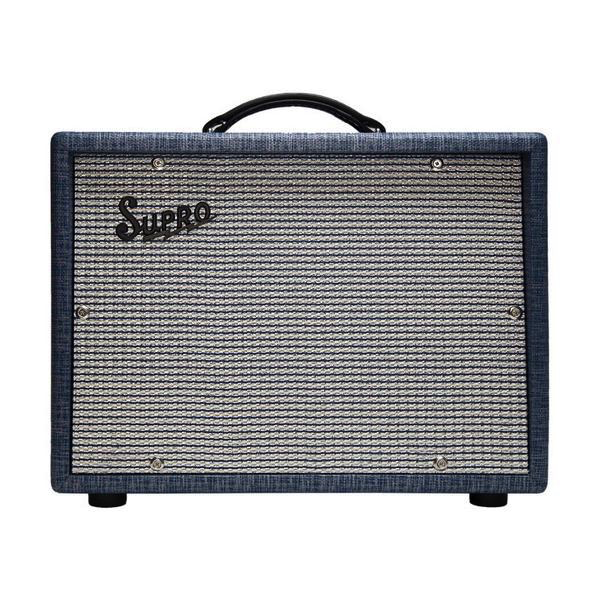 Supro 1742 Titan Extension 1X2 Amp Cabinet - Bananas at Large - 1