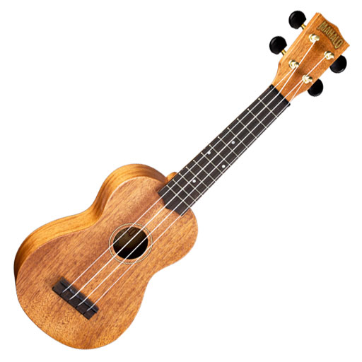 Mahalo Deluxe Soprano, Arched Back Ukulele with Bag - Bananas at Large
