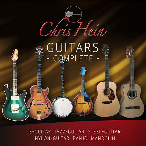 Best Service Chris Hein Guitars Seven Guitars Professionally Sampled [Download] - Bananas At Large®