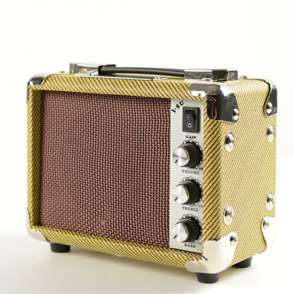 Kala AMP-TWD-5U Tweed Ukulele Amp Mini 5-Watt
