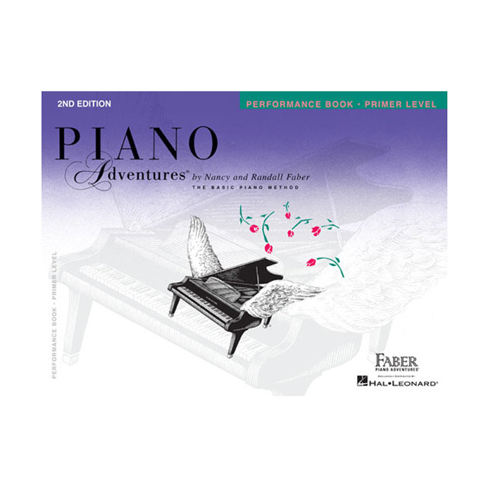 Hal Leonard Piano Adventures Primer Level Peformance Book 2nd Edition - Bananas At Large®