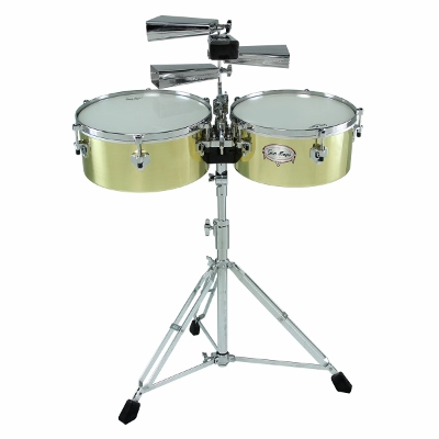 Gon Bops AATB1415 Alex Acuna Signature Timbales 14in and 15in Set - Bananas At Large®