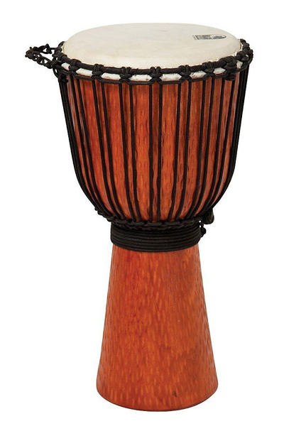 Toca Street Series Rope Tuned Djembe XL Cascade - Bananas at Large