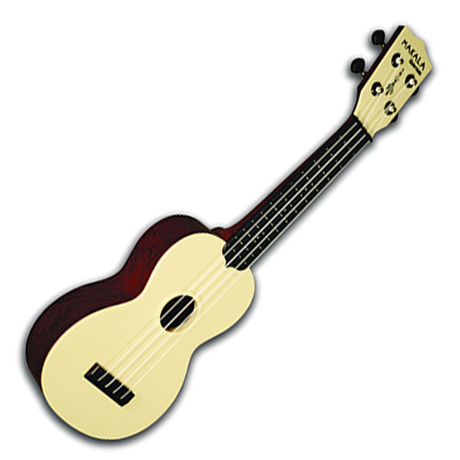 Kala Makala Soprano Ukelele Waterman Swirl Red - Bananas At Large®