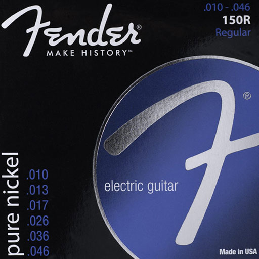 Fender 150R Original Pure Nickel Electric Guitar Strings - Bananas At Large®