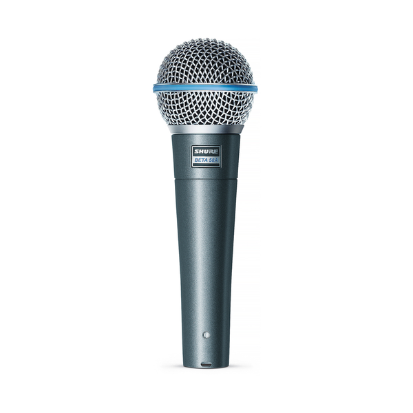 Shure BETA 58A Supercardioid Dynamic Microphone - Bananas at Large